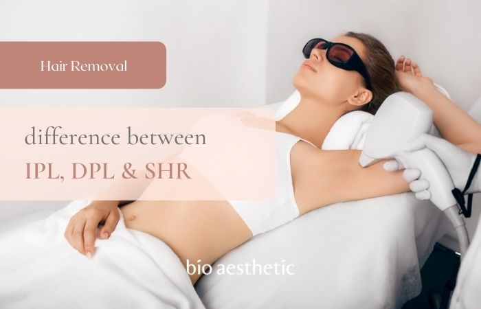 difference between ipl dpl shr and laser hair removal