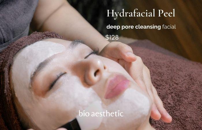 hydrafacial facial treatment