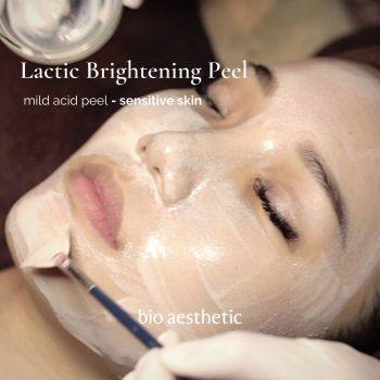 lactic brightening peel - facial treatment singapore