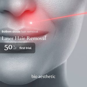 laser hair removal trial